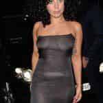 Леди Гага блеснула в прозрачном платье