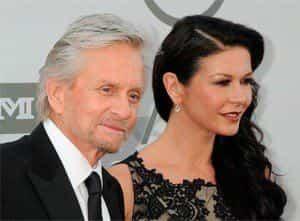Майкл Дуглас и Кэтрин Зета-Джонс отметили годовщину свадьбы