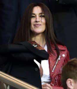 Моника Беллуччи влюбилась в футболиста?