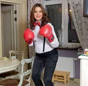Оксана Федорова увлеклась боксом