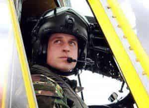 Принц Уильям поработает в санитарной авиации