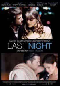 Кира Найтли и фильм Прошлой ночью в Нью-Йорке
