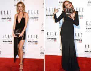 Роузи Хантингтон-Уайтли и Кара Делевинь стали звездами Elle Style Awards