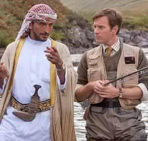 Эмили Блант и фильм Рыбалка в пустыне