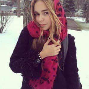 Стефания Маликова стала звездой Vogue