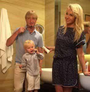 Сын Рудковской и Плющенко снялся в рекламе