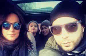 Иван Ургант улетает с семьей в Америку