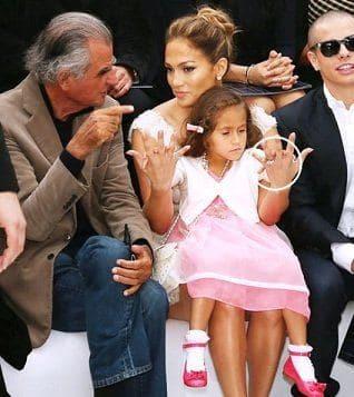 Дочь джей ло дебютировала на модном