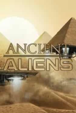 кадр из фильма Древние пришельцы