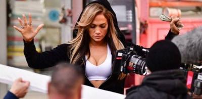 Дженнифер Лопес порвала связку на съёмках фильма
