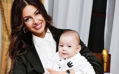 Экс жена короля Малайзии Оксана Воеводина во время беременности спаслась от пожара