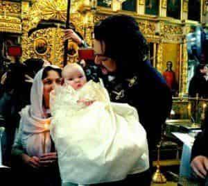 Филипп Киркоров провел крестины своей малышки