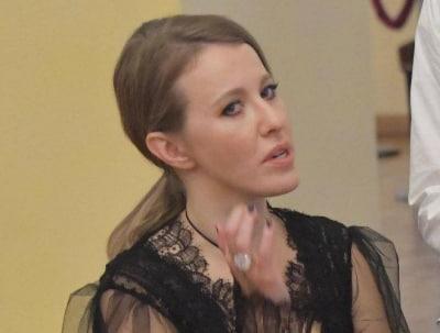 Ксения Собчак сыграет роль первого плана в фильме ограблении