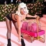 Леди Гага разделась до нижнего белья на одной из крупнейших вечеринок США
