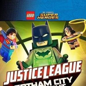кадр из фильма LEGO супергерои DC: Лига справедливости – Прорыв Готэм-сити