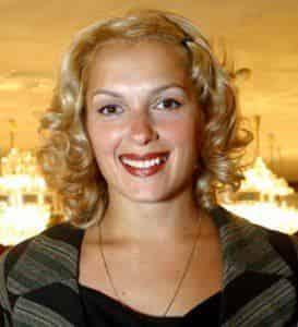 Мария Порошина снимается в новогодней мелодраме