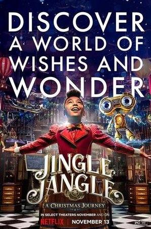 кадр из фильма Мистер Джангл и рождественское путешествие