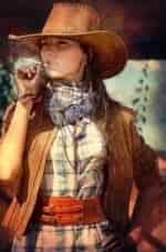 кадр из фильма На Диком Западе
