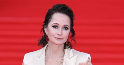 Ольга Кабо впервые вышла в свет после развода с мужем