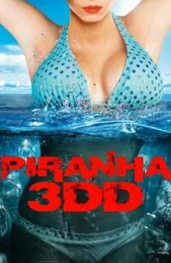 кадр из фильма Пираньи 3DD