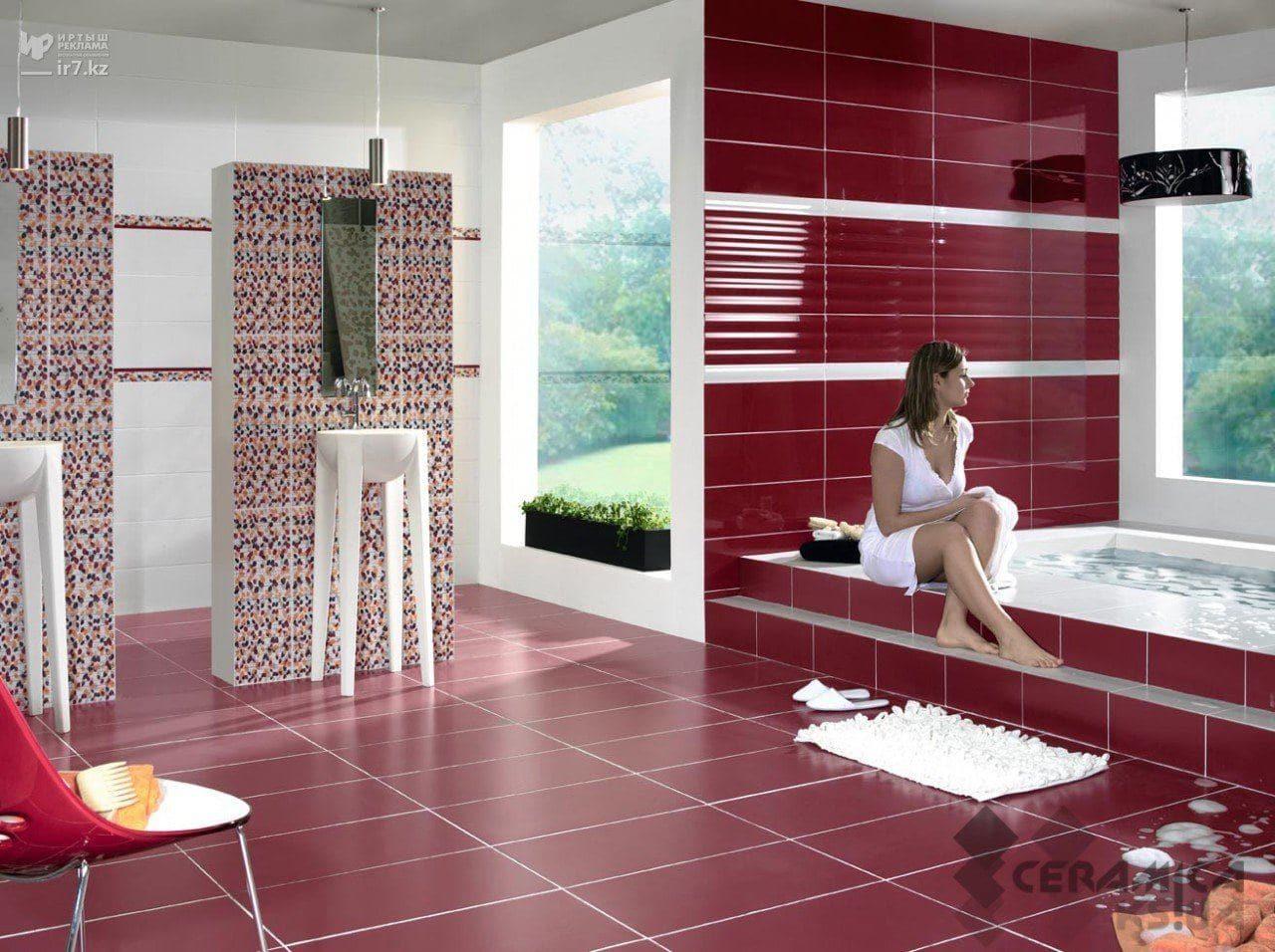 Плитка для ванной комнаты как выбрать