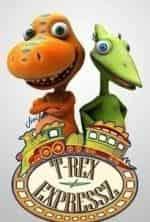Поезд динозавров кадр из передачи
