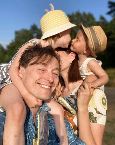 Сергей Безруков мечтает об отдыхе без детей