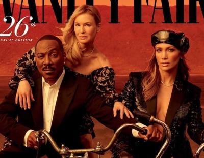 Суровая байкерша Джей Ло и пастушка Зеллвегер снялись для обложки Vanity Fair о голливудских мечтах
