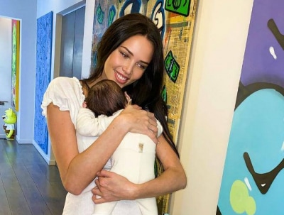 Возлюбленная Тимати с подросшим сыном вернулась в Россию