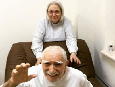 Хочу быть с ним: экс жена Джигарханяна спешно вылетела в Москву из Америки
