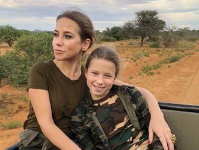 Юлия Барановская увезла детей в Намибию